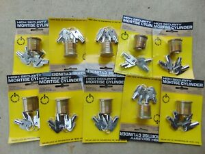 10 New High Security Mortise Locks Cylinders With Key