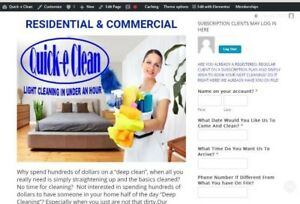 Cleaning Srvc Website For Sale Money Making Work At Home Internet Business