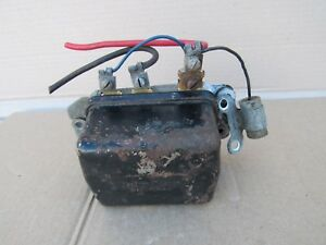 1961 1962 Pontiac Oem Voltage Regulator 389 421 Catalina Bonneville Grand Prix