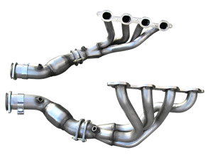 Arh American Racing Headers Fits 2014 Up C7 C7 z06 Mid length System