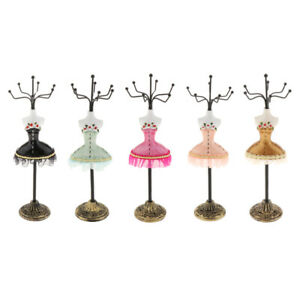 5pack Bracelet Earrings Jewelry Display Stand Rack Holder Mannequin Decor