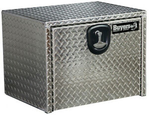 Buyers Products 1705149 14x12x18 Diamond Tread Aluminum Underbody Truck Box