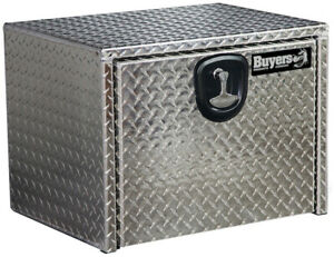 Buyers Products 1705102 18x18x14 Diamond Tread Aluminum Underbody Truck Box