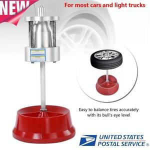 New Car Truck Portable Hubs Wheel Tire Balancer Bubble Level Heavy Duty Rim Us