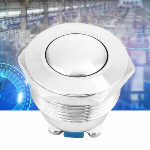 22mm Power Start Electrical Switches Momentary Auto Reset Push Button Waterproof