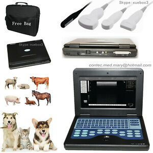 Contec Veterinary Ultrasound Scanner Portable Laptop Machine 10 1 Inch usa Sell