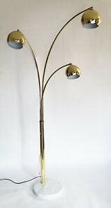 Mid Century Vintage Eyeball 3 Arc Sonneman Style Floor Lamp Out Of This World