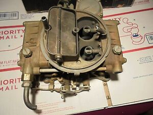Big Block Chevy Carb Holly 4 Bl Usa Made 1850 1 0617