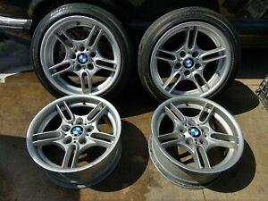 97 03 Bmw Style 66 M Sport Wheels Rims Only E39 M5 540i 530i 525i 528i 535i E36