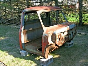 1953 Ford Truck Cab For Parts Restore Patterns Rat Rod Repurpose Yard Art Or