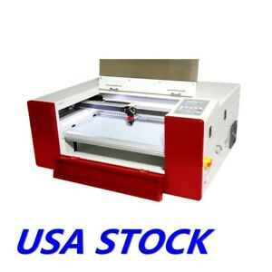 Usa E 5030 Co2 Laser Cutting And Engraving Machine