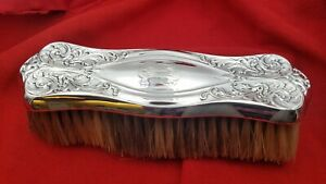 Art Nouveau Sterling Silver Clothes Brush By Foster Bailey 4557