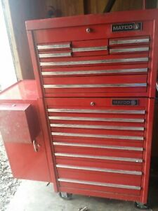 Matco Tool Box With Side Box Great Condition