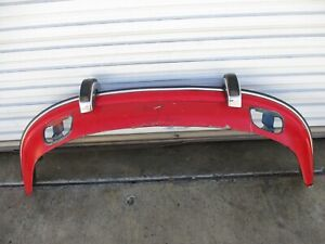 Porsche 911 912 1969 1973 Front Bumper Assembly With Guards And Fog Covers