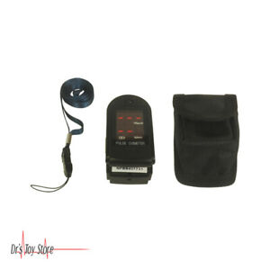 Fingertip Pulse Oximeter With Spo2 Pulse Rate And Pulse Intensity Bar graph