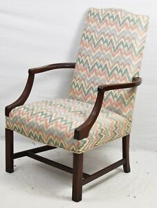 Southwood Chippendale Arm Chair Lolling Chair New England Historical Collection