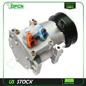 For 2011 2013 2012 Ford Fiesta A c Compressor Cluth 1 6l New Co 11340c