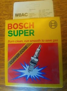 Set Of 4 Nos Spark Plugs Bosch Super Copper Core W8ac For Corvair Volkwagen