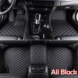 New Waterproof Pu Leather Car Floor Mats Fit 2007 2018 Bmw X5 F15 E70 4 Door Us
