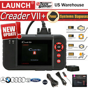 Us Launch X431 Creader Vii 7 Auto Car Obd2 Diagnostic Tool Scanner Code Reader