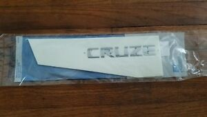2011 2015 Cruze Trunk Chrome Cruze Emblem Nameplate New Gm 95989983