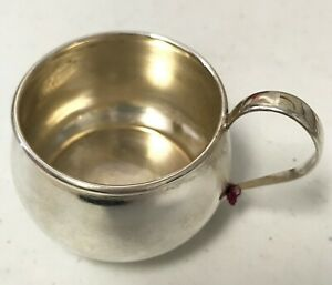 Sterling Silver Baby Cup Webster Sterling 4700 No Engraving Monogram
