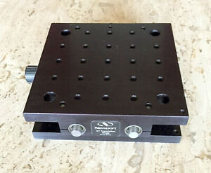 Newport M 401 Xy Translation Linear Stage 13 Mm Travel M6 Threads