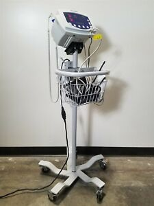 Welch Allyn 53nto 007 0104 01 Patient Vital Signs Monitoring System Cart