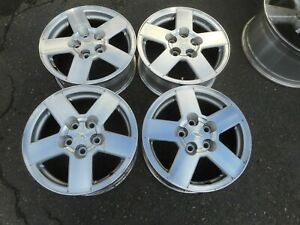 16 Chevy Equinox Oem Factory Sliver Alloy Wheels Rims 5232 2005 2009