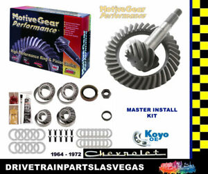 Gm Chevy 8 2 Performance Ring Pinion Gear Set Master Install Kit 3 55 64 To 72