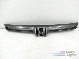 2006 2007 2008 Honda Civic Coupe Front Grille W Emblem Oem Gray Pre owned