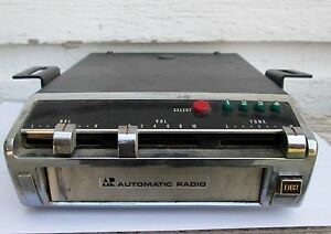 Vintage Car Truck Automatic Radio 8 Track Tape Player Stereo Model Spa 5000b