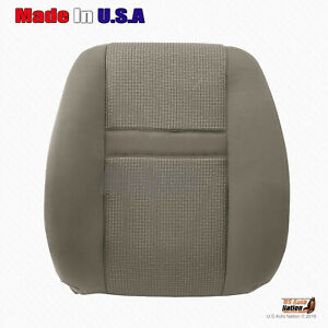 Driver Upper Top Cloth Seat Cover 2006 2007 2008 2009 Dodge Ram 2500 3500 tan
