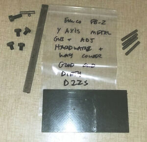 Emco Maximat Fb 2 Mill Parts Y short Axis Gib Way Cover Hardware D22s