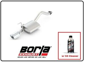 Borla Axle back Exhaust S type W ss Cleaner For 12 15 Honda Civic 11828