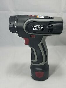 Matco Mtc12s 12v Screwdriver With Battery Mtc1215lb