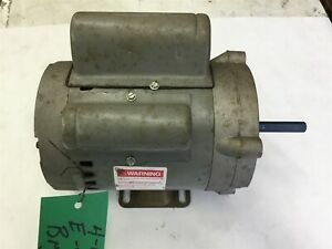 Century 7 158321 20 1 3 Hp Ac Motor 115 Volts 1725 Rpm 4p Single Phase 48y Frame