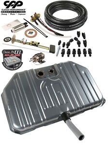 1970 70 Chevy Monte Carlo Ls Efi Fuel Injection Notched Gas Tank Conversion Kit