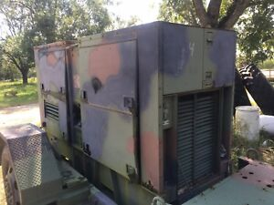 Mep 007b Trailer Mounted 100kw Generator 3 Phase 3306 Caterpillar Diesel 1700 Hr