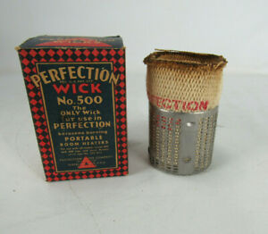 Vintage Nib Perfection Red Triangle No 500 Wick For Portable Room Heater