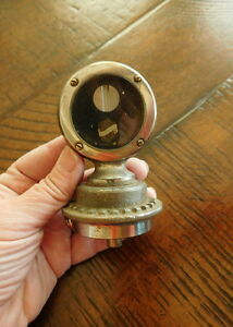 1926 1927 1928 Oldsmobile Radiator Cap Motor Meter With Base Ornament Rare Olds