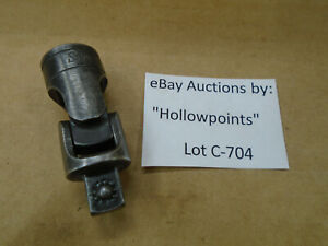 C704 Snap On Vintage Gu 8a Universal Joint 3 8 Drive Snap On