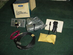 Nos Ford Electric Remote Trunk Release 67 68 69 70 71 72 Torino Mustang Galaxie