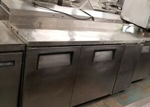 True Tpp 60 60 Pizza Prep Table W Refrigerated Base