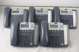 Lot Of 5 At t 984 4 line Small Business System Office Phones