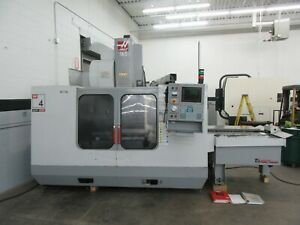 Haas Vf 4apc Cnc Vertical Machining Center With Pallet Changer