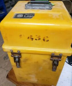 Spectra Physics Laserplane 910 944 945 Laser Transmitter Carrying Case Only