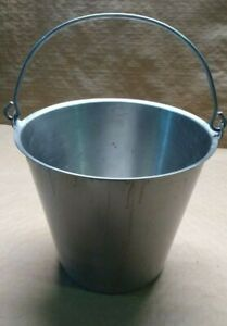 Stainless Steel Bucket Milking Pail With Free Shipping
