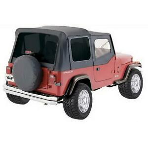 Rampage 68115 Complete Soft Top Soft Upper Doors Jeep Wrangler