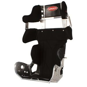 Kirkey 27 Series Micro mini Sprint Car Race Seat Black 12 Wide